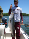 Client with Big Striper